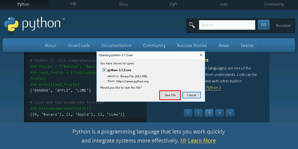 How to install Python in Windows? - Partner Services - CREODIAS