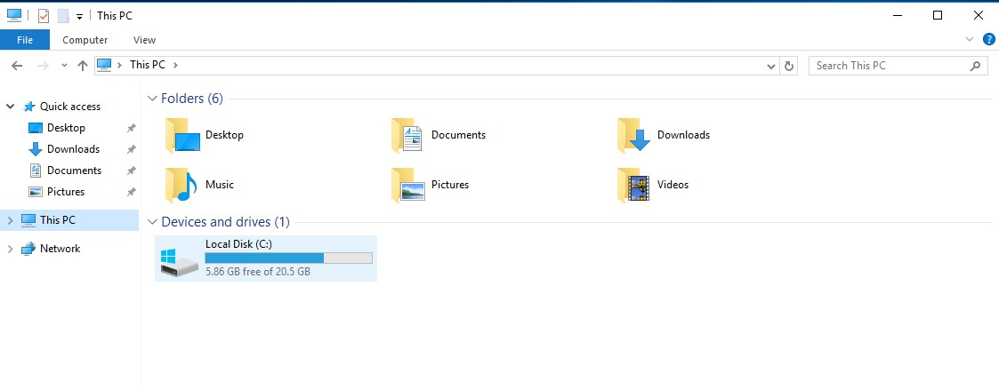 How to fix hard disk space issue in VMs with Windows? - FAQ