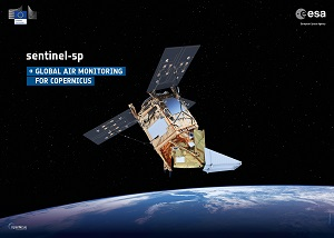 Illustration of Sentinel-5 Precursor now on CREODIAS