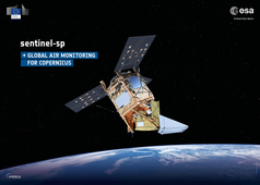 Illustration of Sentinel 5P - Methane and Ozone data now available