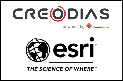 Illustration of CREODIAS and ESRI cooperation!