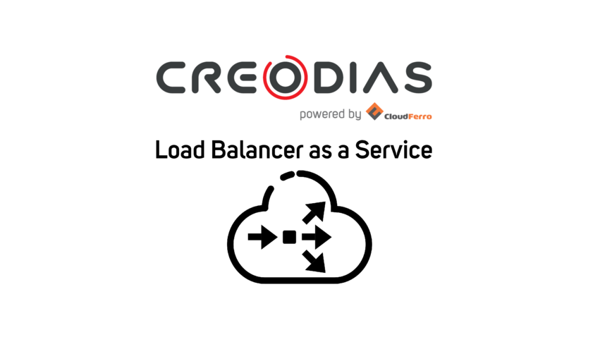 Illustration of Load Balancer as a Service on CREODIAS