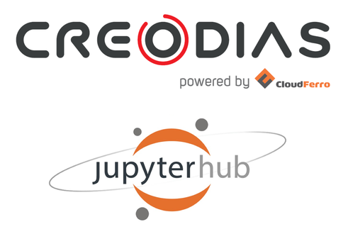 Illustration of JupyterHub - available on CREODIAS